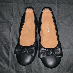 Nina bow flats size 3